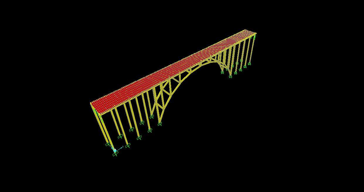 فایل مدلسازی پل راه آهن
